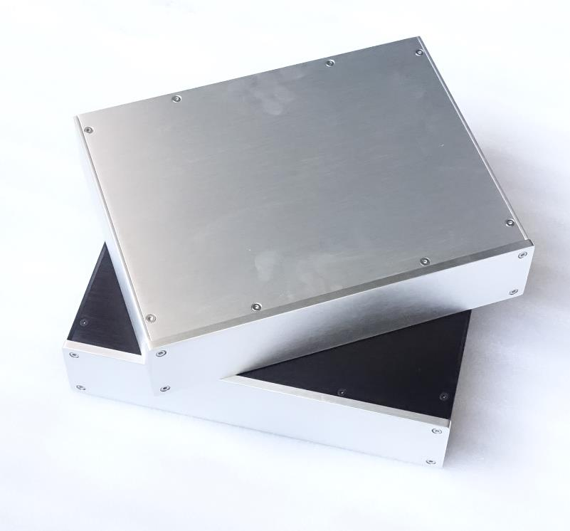 D3207 Full Aluminum Preamplifier Enclosure DAC Case Amplifier Chassis DIY Amp Shell 320*70*248mm 4309 blank psu chassis full aluminum preamplifier enclosure amp box dac case