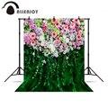 Allenjoy фон для фотосъемки красивые цветы фон для свадебной сцены фотография