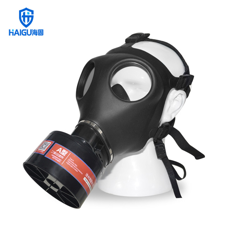 The New 700 Respirator Gas Mask High Quality TPE Injection Molding Environmental Mask For Formaldehyde Alcohol Gas Mask