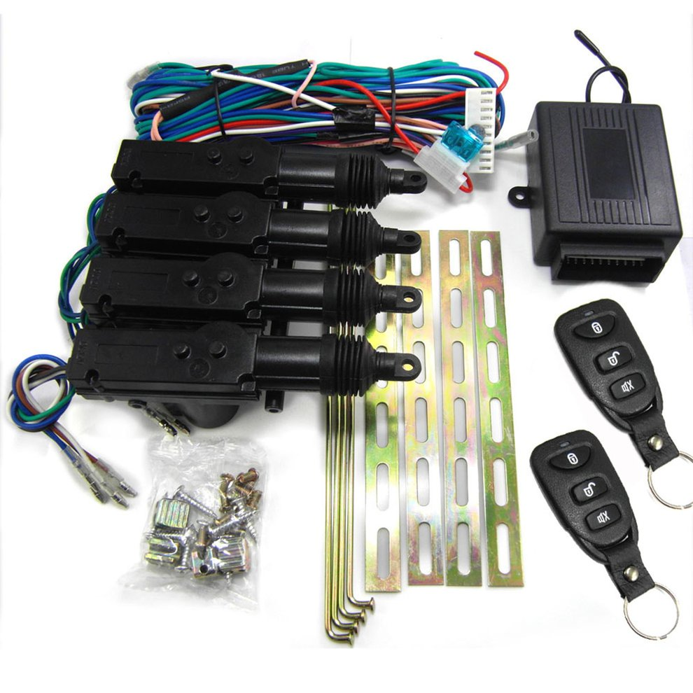 M603-8113 Car Remote Control Central Lock Alarm Device With Motor System