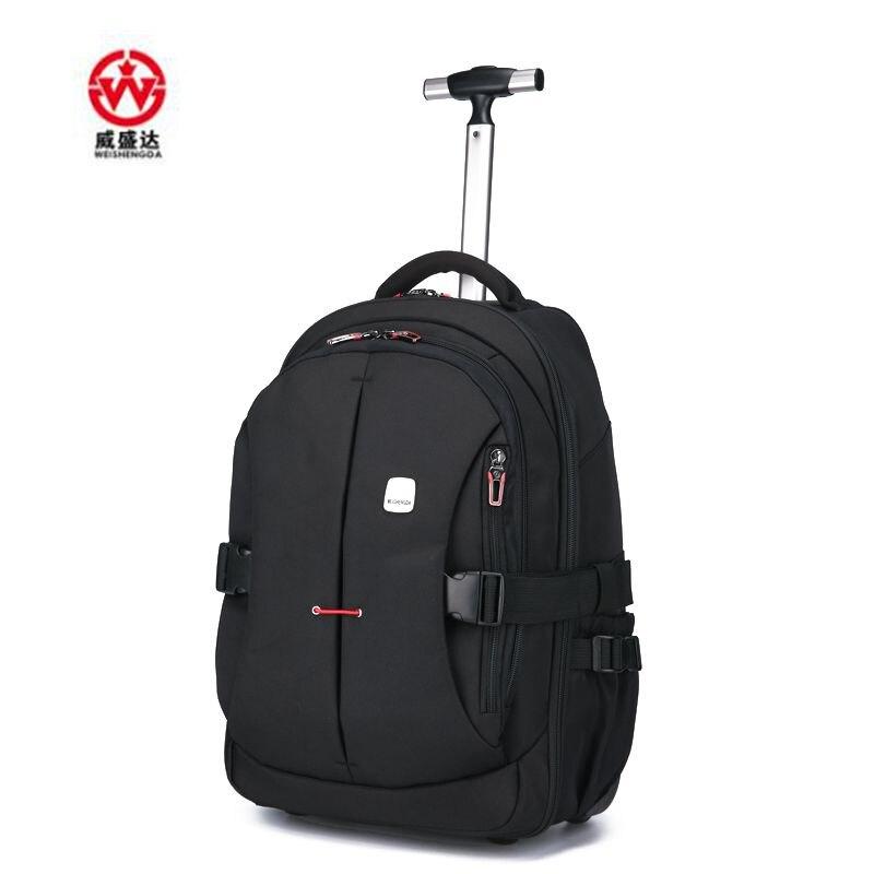 Hommes Oxford chariot de voyage sacs à bagages chariot de voyage sacs à roulettes femmes sacs à dos à roulettes valise de bagages d'affaires sur roues