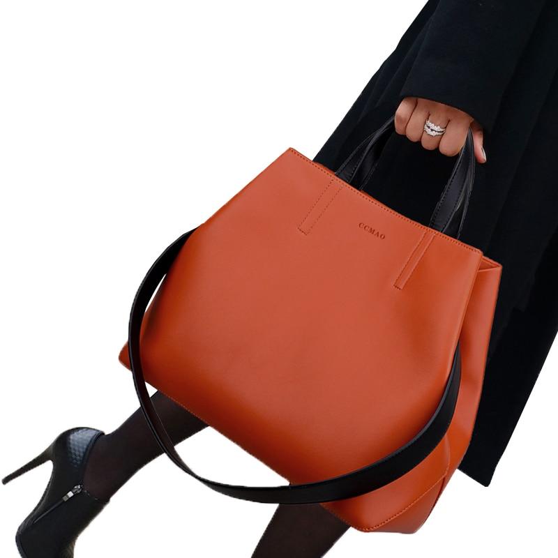 все цены на ETONWEAG 2018 New Fashion Women's Handbag Microfiber Leather Shoulder Bag Ladies Daily Brand Messenger Cc Cat Bags Female Tote