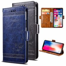 HUAWEI Honor Play 8A Case PU Leather Flip Cover Protectiv with Card Slot Cash Clip Magnetic Closu for Honor Play8A Phone Case(China)