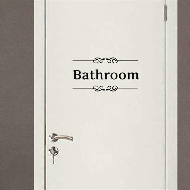 Bad Dusche Wc Tür Decor Registrieren Aufkleber, Freies Schiff