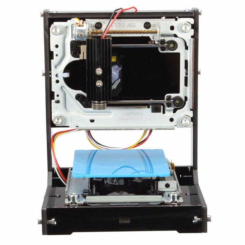 500mW USB Black DIY Home Laser Printer Engraver Laser Engraving Cutting Tool Logo Marking Hine With1GB SD Card Set