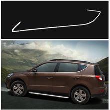Geely Emgrand X7 EmgrarandX7 EX7 suv, barra ligera ventanilla del coche, 8 unids/set