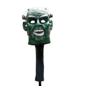 Image 5 - ใหม่ Golf Club headcover Protector ครอบคลุมกะโหลกศีรษะส่วนบุคคล Golf headcover จัดส่งฟรี