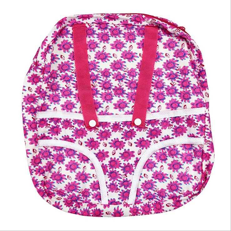 Meired flower backpack Wear fit 43cm Baby Born zapf(only sell bag)