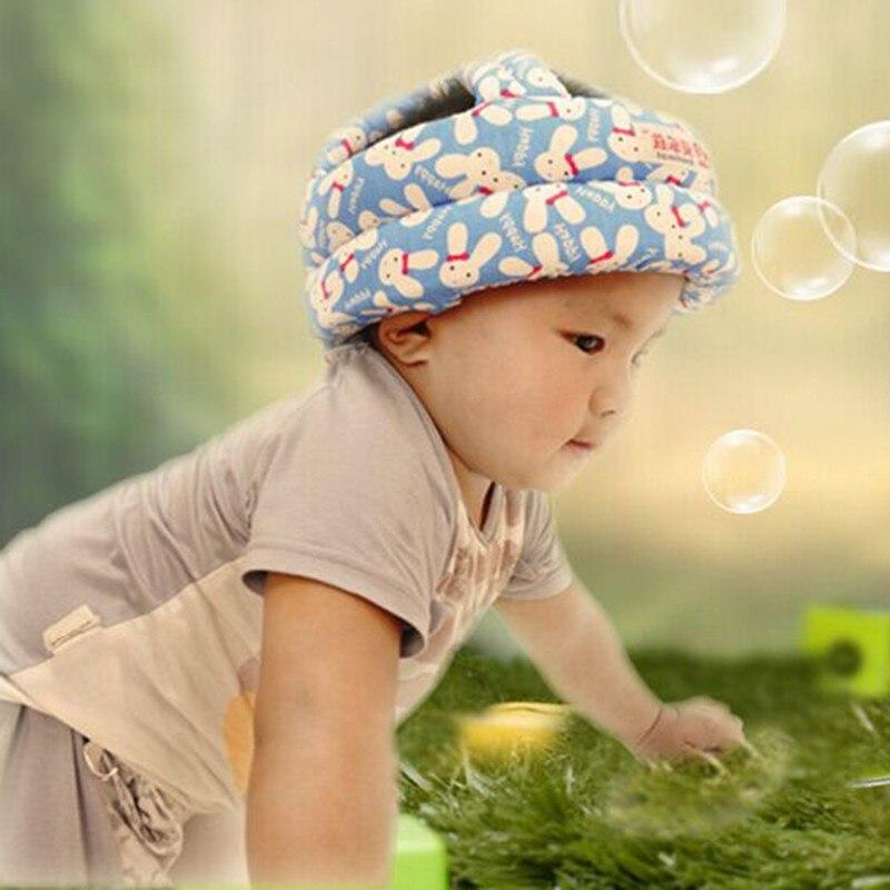 Одежда для малышей Кепки анти-столкновения защитный шлем для Защитные шлемы мягкие удобные головкой безопасности и защиты головы Шапки