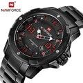 2016 Новый NAVIFORCE Часы Мужчины Luxury Brand Полная Сталь Военно Кварцевые Часы Man Спортивные Часы Наручные Часы Relógio Masculino