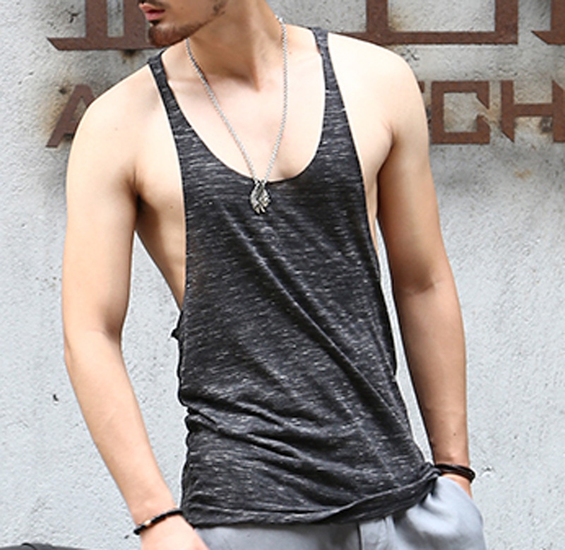 Buy brand mens sleeveless t shirts summer for Top dress shirt brands