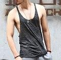 Brand mens sleeveless t shirts Summer Cotton Slim Fit Men Tank Tops Clothing Bodybuilding Undershirt golds men tanks men singlet