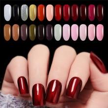 Meicailin 7ML 12  Colors Gel Varnish Gel Nail Polish Nail Gel Polish Art Vernis Permanent UV Soak-Off Nail Gel Manicure