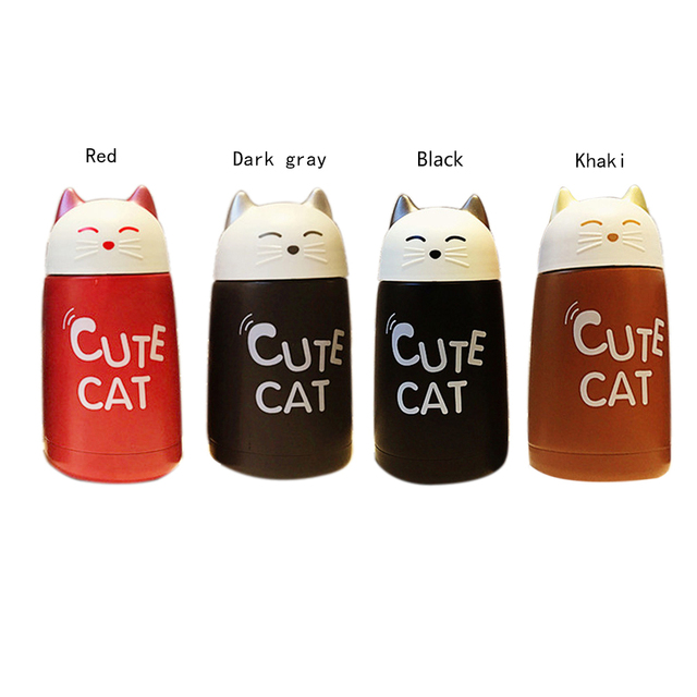 Cute Cat Stainless Steel Cup