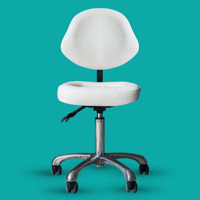 Beauté Tabouret Chaise Support Dentiste Médecin Médical Bureau Salon Spa Équipement De Tatouage Hydraulique Réglable Tabouret Roulant