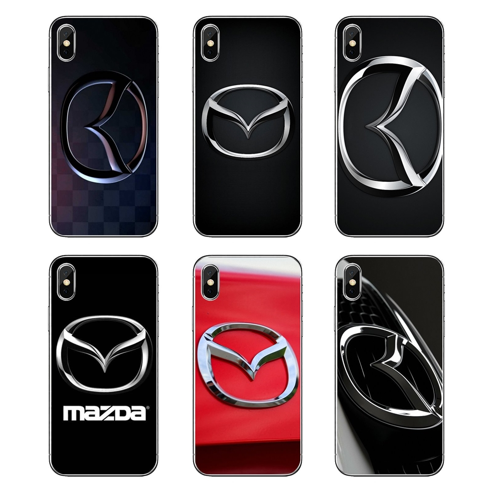 100% Kwaliteit Mazda Auto Logo Print Voor Samsung Galaxy A5 A6 A7 A8 A9 J4 J5 J7 J8 2017 2018 Plus Prime Zachte Transparante Gevallen Covers