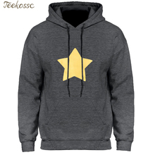 Universo de STEVEN estrella galleta gato Sudadera con capucha de los hombres  amarillo estrella sudaderas con capucha para hombre. 14359380f784
