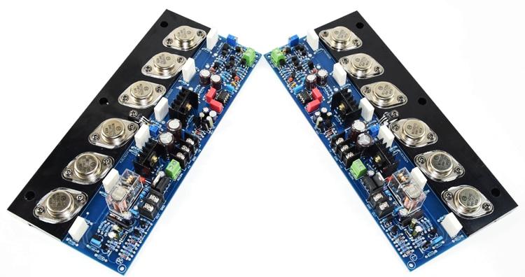 breeze audio E405 MJ15024G/MJ15025G + 2SA1930/2SC5171 200W+200W 4R Class AB Gold sealed tube grade HIFI fever amplifier board