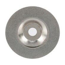 Шлифовальный круг для стекла, 4 дюйма, Алмазное режущее колесо, пильный диск из смолы, алмазный шлифовальный диск, роторные абразивные инструменты для керамического стекла