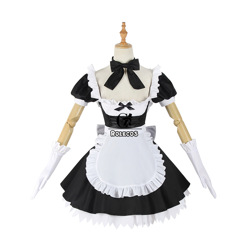 ROLECOS Fate Grand Order Cosplay Costume Jeanne d'Arc Sexy Dress Joan of Arc Cosplay Costume FGO Women Maid Lolita Dress Party
