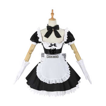 ROLECOS Fate Grand Order Cosplay Costume Jeanne d\'Arc Sexy Dress Joan of Arc Cosplay Costume FGO Women Maid Lolita Dress Party