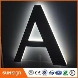Led backlit logo sign for advertising New style import acrylic led backlit letter sings