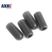 100pcs/Lot M4x5 mm M4*5 mm Alloy steel Hex Socket Head Cap Screw Bolts set screws with cup point