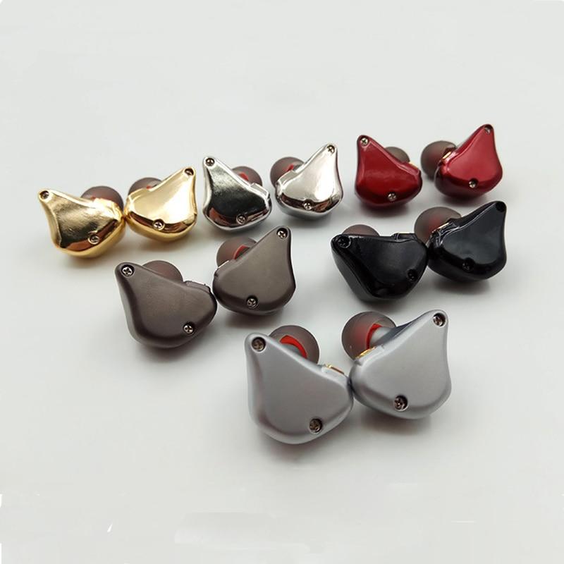 Diy Earphone Shell Zinc Aluminum Alloy Moving Iron Pin Socket Male Mold Private Film Earphone Shell Ear Shell