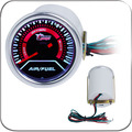 "2 ""52 MM Universal de Aire Combustible Ratio Gauge Meter Auto Del Coche Blanco LED"