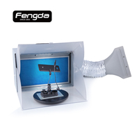 Fengda spray booth BD 512A tools compressor airbrush spray gun painting