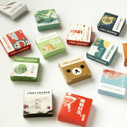 40 teile/satz Mini cartoon serie aufkleber Kawaii Album Scrapbooking dichtung aufkleber Schreibwaren schule material liefert (tt-2834)