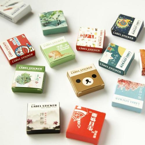 40pcs/set Mini cartoon series sticker Kawaii Album Scrapbooking seal stickers Stationery school material supplies(tt-2834) victon 2nd mini album ready release date 2017 03 03