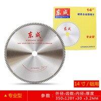 14 TCT Saw Blade 350*3.2*30mm Aluminum Saw Blade 100/120Teeth Circular Saw Blades For Aluminum