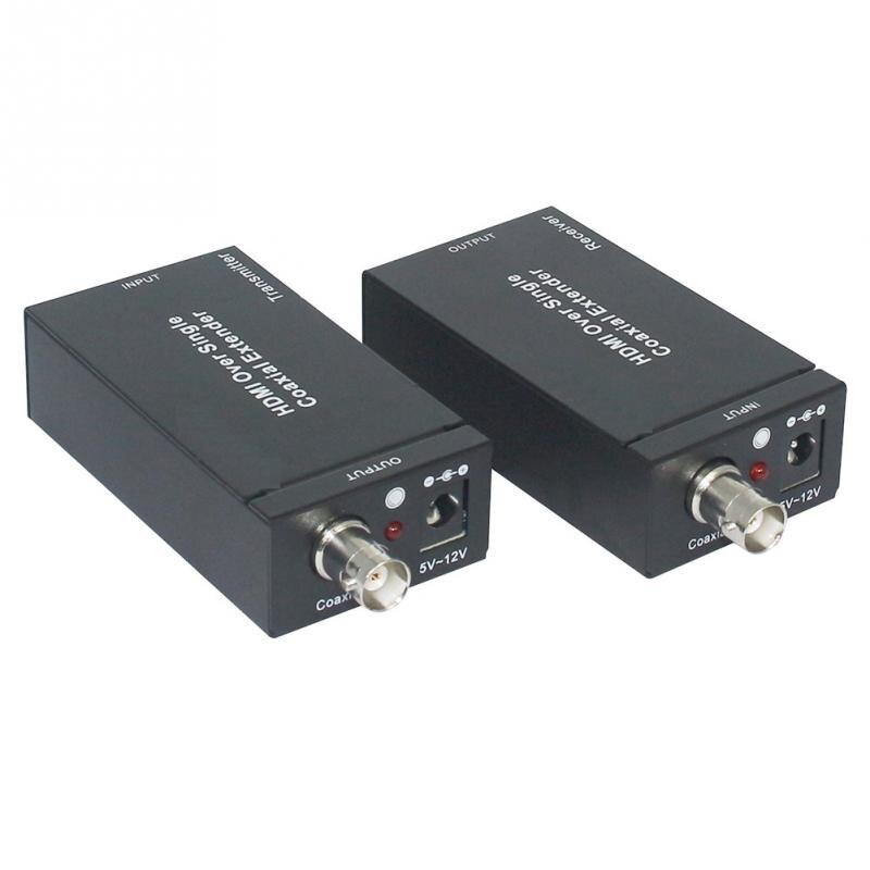 US plug, UK plug, EU plug, AU plug 400m HDMI Coaxial Extender RG-6/59 1080P Extender Transmitter Set