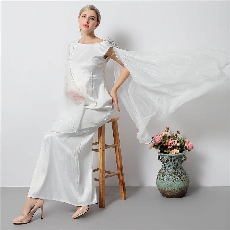 198eaff5a8c77 It's YiiYa New Shawl O-neck White Maternity Dress Summer Pregnant Shooting  Photo Maternity Dresses H148