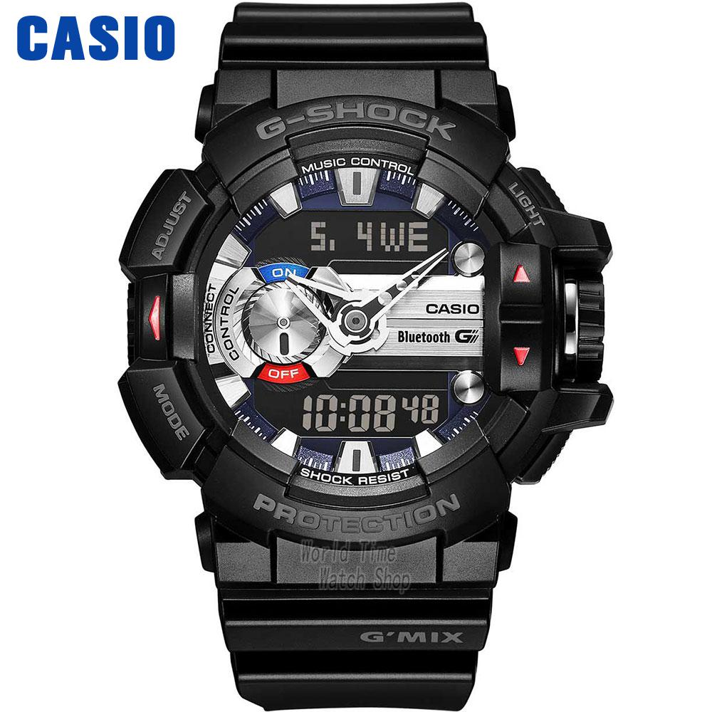 Casio watch Music bluetooth multifunctional movement male watch GBA-400-1A GBA-400-1A9 GBA-400-4A casio gba 400 2a