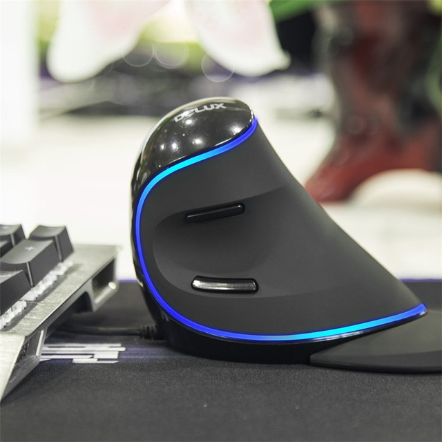 Vertical Gaming Mouse  6 Buttons 4000DPI