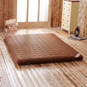 Image 2 - Colchão massageador de espuma, colchão duplo de fibra de bambu, colchão de ar