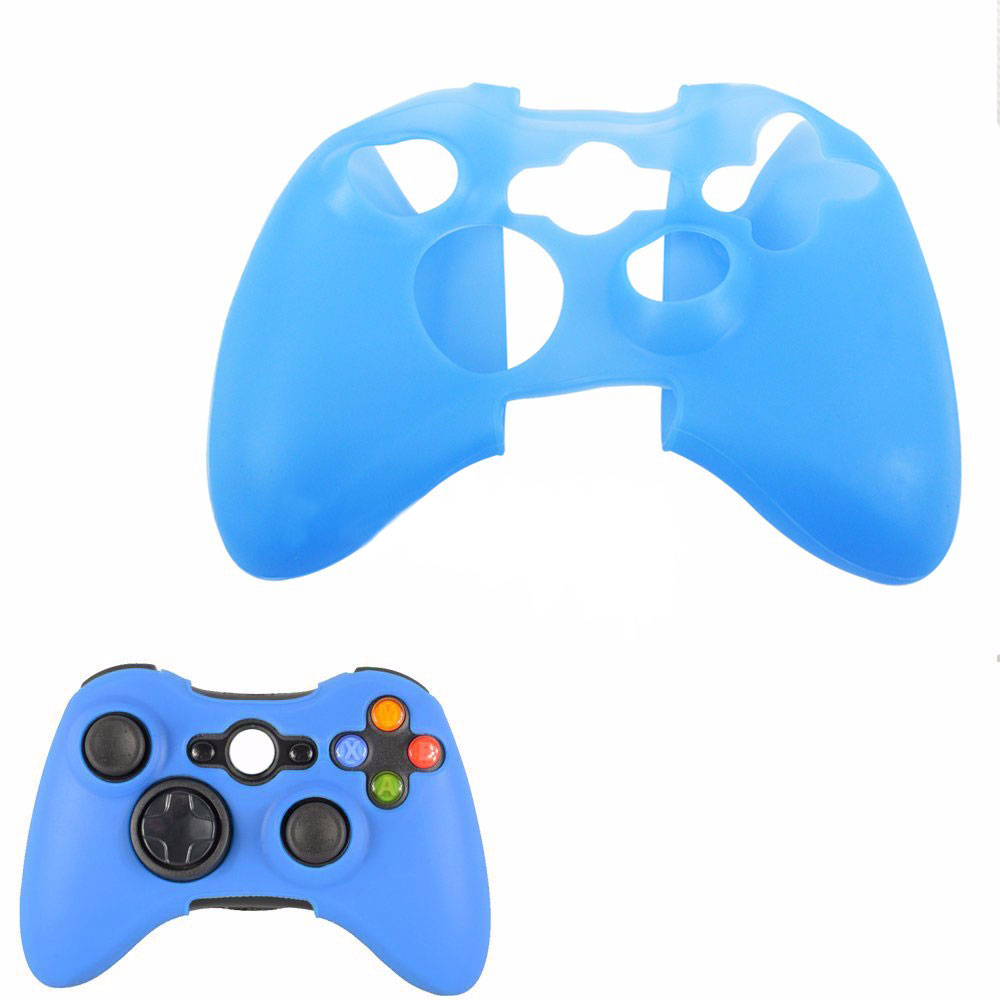2017 HOT Sale Silicone Rubber Protective Skin Case Cover for XBOX 360 Controller Game