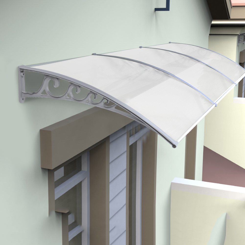 Dropship 60x100cm Durable Window Awning Canopy Awning Poly ...