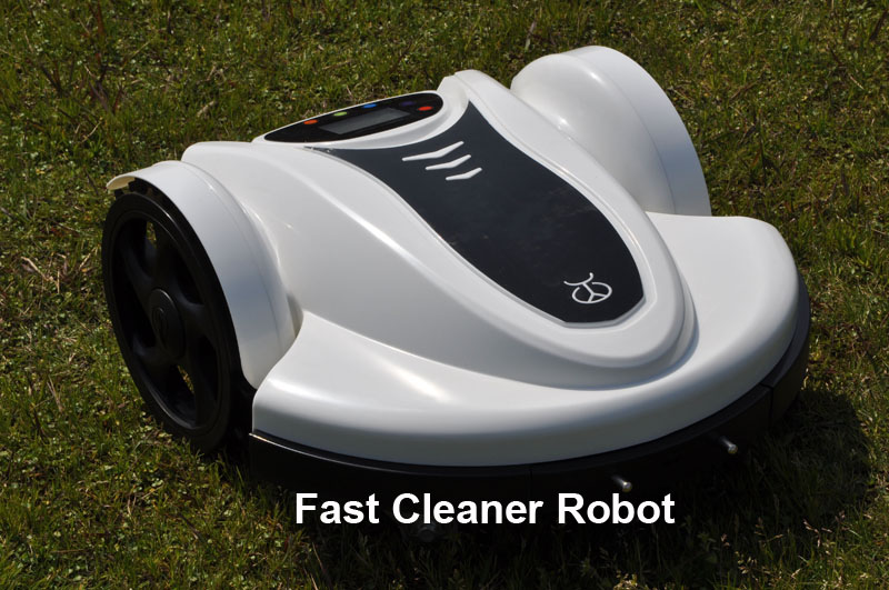Newest Brand Lithium battery Zero Turn Mower Robot With Password,Schedule and Subarea Setting(100m Virtual Wire&100pcs Peg)