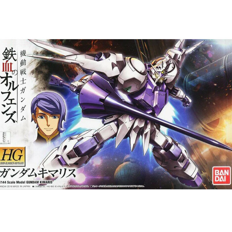 BANDAI 1/144 Mobile Suit Gundam IRON-BLOODED ORPHANS ASW-G-66 Kimaris 011 model assembled Robot action figure gunpla juguetes недорго, оригинальная цена