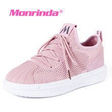 Monrinda Walking Shoes Women Platform Yoga Sports Woman Summer Traveling Shoe light weight breathable Runing Sneakers 7.5