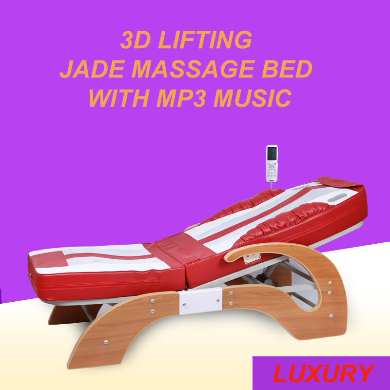 HFR-168BS Split-body  Electric Kneading Full Body Roller Massager with Carbon Fiber Heating Jade Massage Bed Table slimming body massager split type
