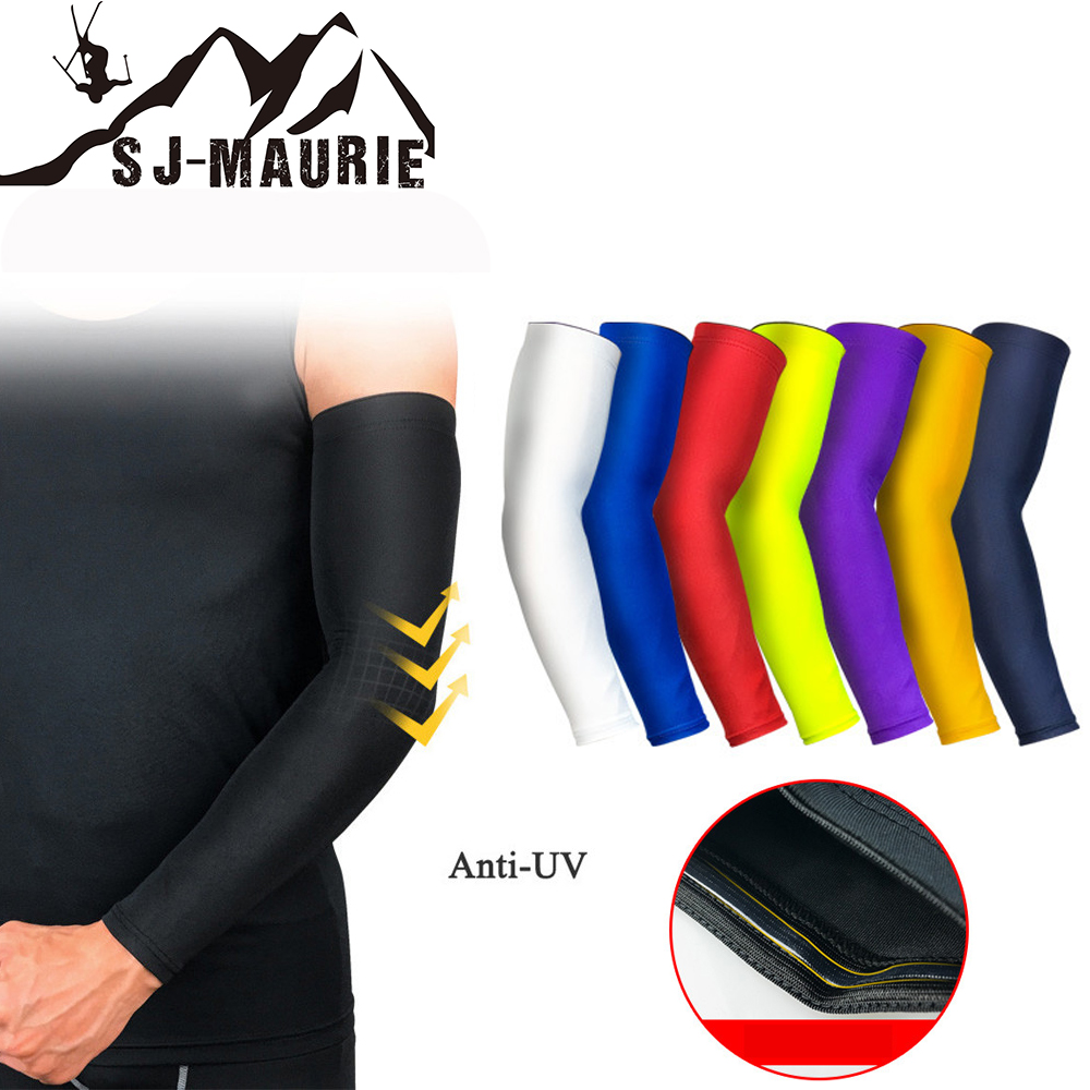 Sports & Entertainment Sj-maurie Breathable Sports Elbow Gear Protectors Cinta Kinesiologica Basketball Elbow Pad Brace Anti-uv Arm Support Guards Pads Selling Well All Over The World Sports Safety
