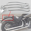 New Chrome Solo seat Luggage rack fits for Harley Davidson Road King 97-15  Street Electra Glide FLHT FLHR Free Shipping to USA