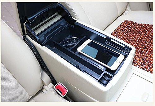 Image 5 - EDBETOS Car Armrest Box Center Console Storage Glove Box Organizer Insert Tray For Toyota Camry 2012 2017-in Stowing Tidying from Automobiles & Motorcycles