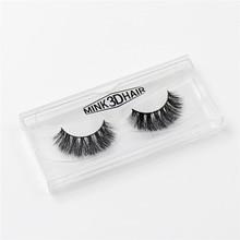 LEHUAMAO 3D mink lashes Cross Thick Natural mink eyelashes false eyelashes Professional Makeup Bigeye Eye Lashes Handmade A014