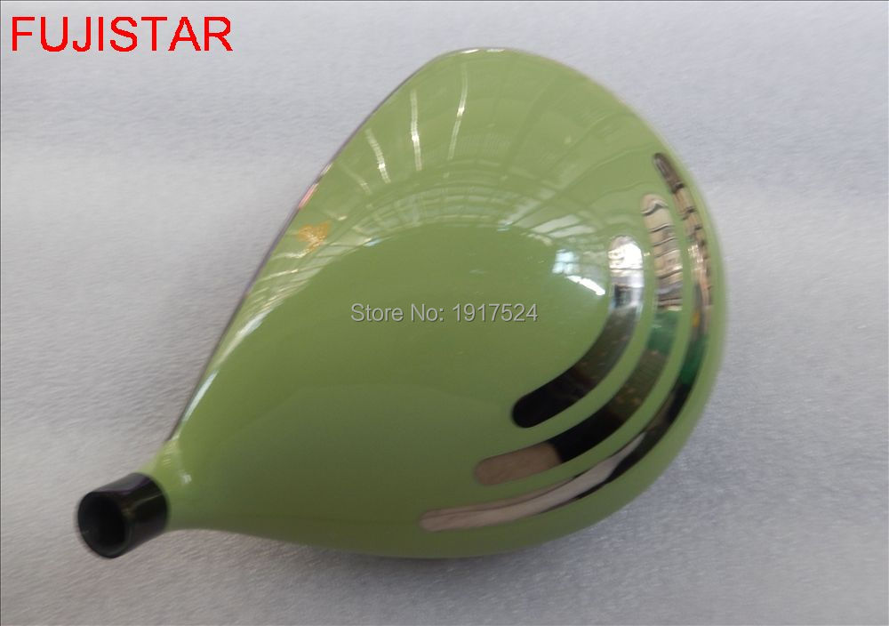 FUJISTAR GOLF Big Bang 470 Highest COR Titanium golf driver head green colour