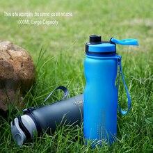 1000 ML Bunten Student Sport Wasserglas außen Camp Tragbaren Plastikwasserflasche Außen Bike Radfahren Getränk Flaschen